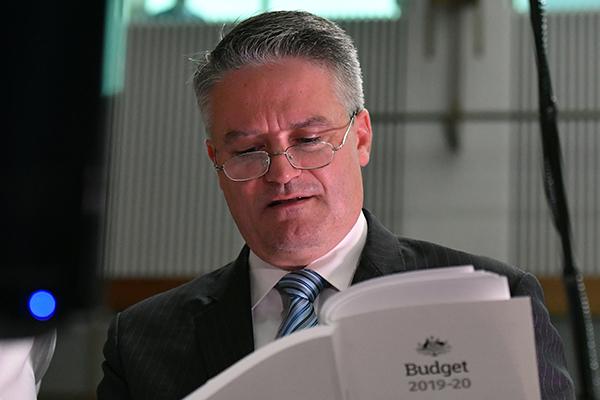 Coalition still able to win trust of Australians, says Mathias Cormann
