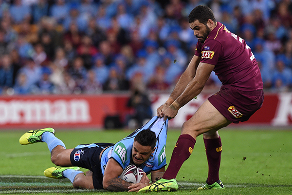 Article image for Retired Origin star concerned about Rugby League: 'It's like a car accident'