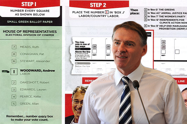 Article image for Labor preferencing Rob Oakeshott and Greens in Cowper