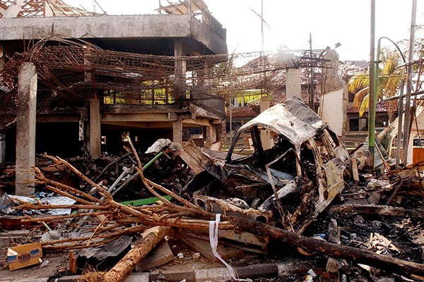 Redevelopment of Bali bombing site put on hold