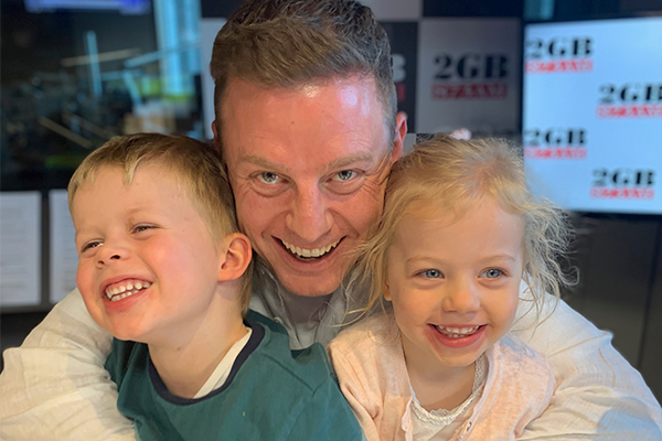 Ben Fordham has two very special guests in-studio