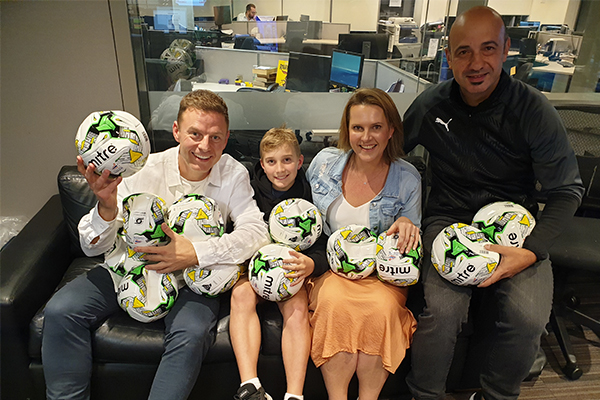 WATCH | Ben Fordham surprises 8-year-old with incredible gift