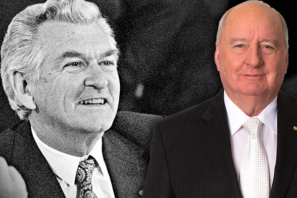 'A giant oak tree has crashed in the forest': Alan Jones remembers Bob Hawke