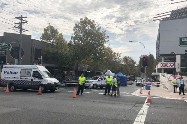Article image for Elderly woman dies in truck crash