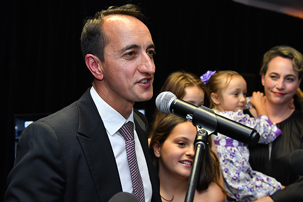 Dave Sharma wins seat of Wentworth