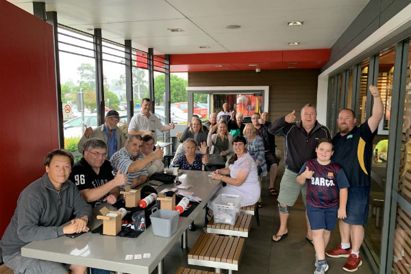 Fan Day- McDonald's Penrith