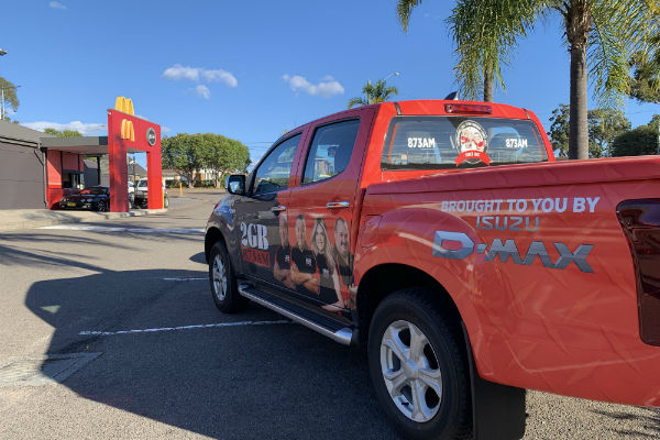 Fan Day- McDonald's Lakehaven