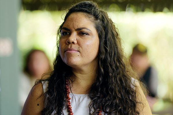 Article image for Greens stand by candidate after Jacinta Price slur