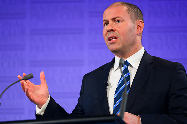 Article image for Josh Frydenberg says 'not the time' for a Labor government