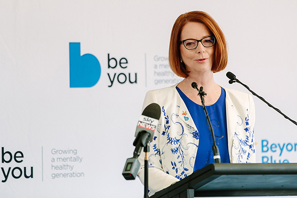 'We need to do better to support men': Julia Gillard's suicide prevention message