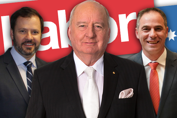 Article image for Is there something sinister behind Labor's leadership vacuum?