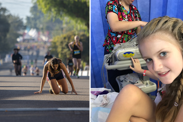 After 130 surgeries, this 11yo is taking on Sydney's toughest challenge