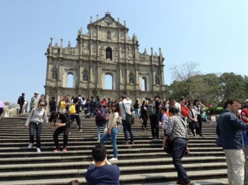 MACAO - Ruins of St Paul's