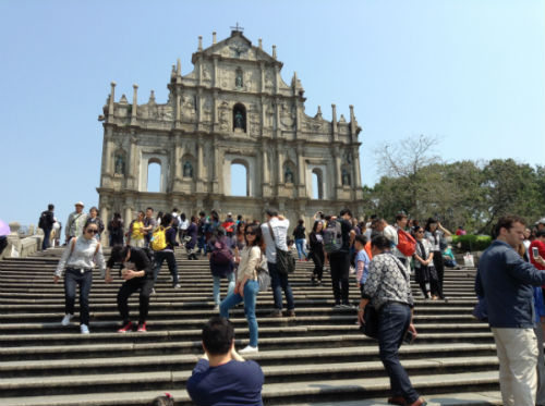 MACAO - Ruins of St Paul's