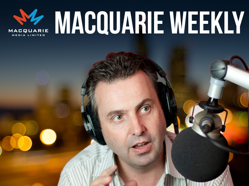 Macquarie Weekly with Justin Smith, 15th December