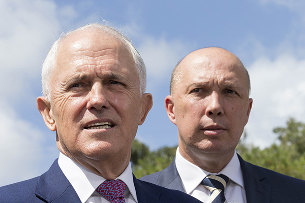 Article image for Dignified Dutton's message for Malcolm