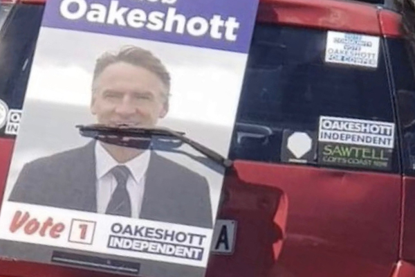 Rob Oakeshott supporter proves just how stupid they are