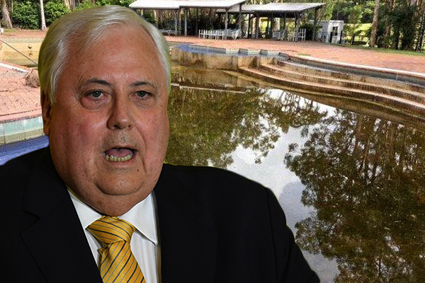 Article image for Clive Palmer claims Coolum Resort is in 'tip-top condition'