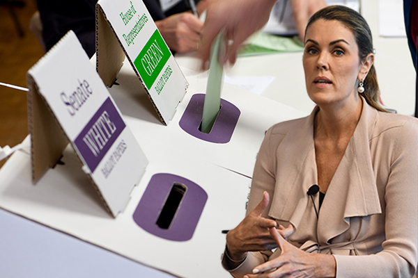 Peta Credlin says election will be 'a very unusual contest'