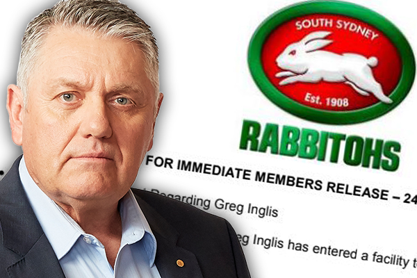 Article image for Greg Inglis admitted to mental health facility: Ray Hadley's important message