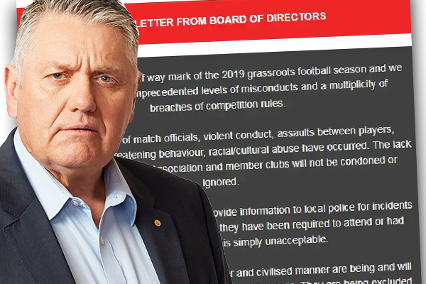 Article image for 'Resign today!': Ray Hadley's explosive interview with head of soccer league