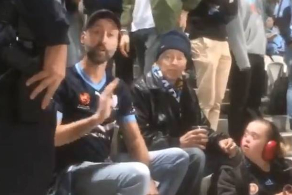 Article image for Police reveal the real story behind Sydney FC fan evicted from Kogarah