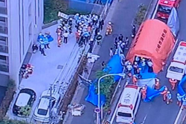 Article image for Children among those stabbed at bus stop near Tokyo