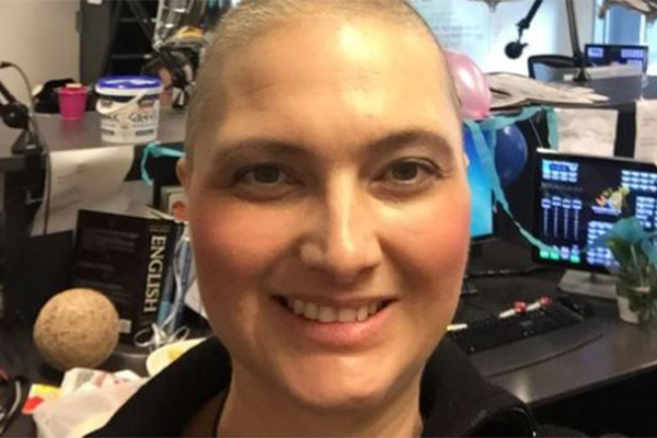 Article image for Newsreader Amie Meehan writes emotional article about her cancer battle