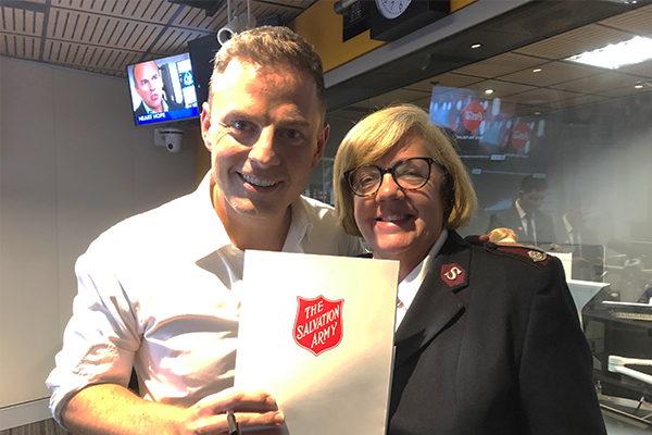 Article image for 'Give hope where it's needed most': Salvos launch Red Shield Appeal