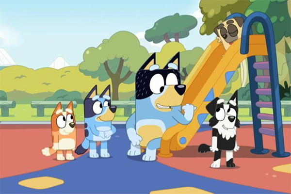Article image for Aussie kids show 'Bluey' set for international release