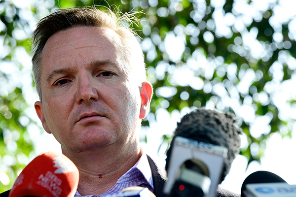 Chris Bowen pulls out of Labor leadership race