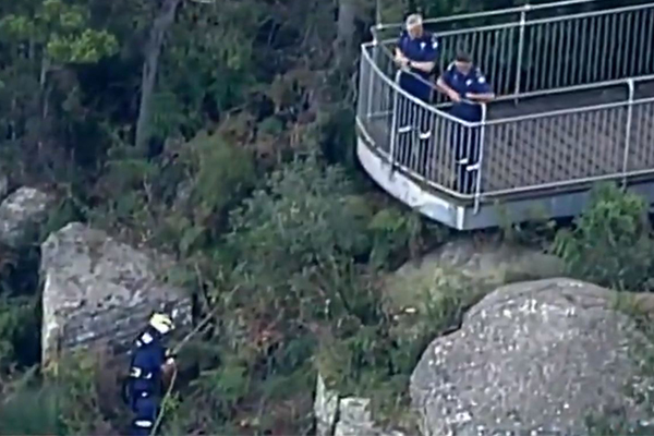 BREAKING | Woman and child found dead after going over cliff