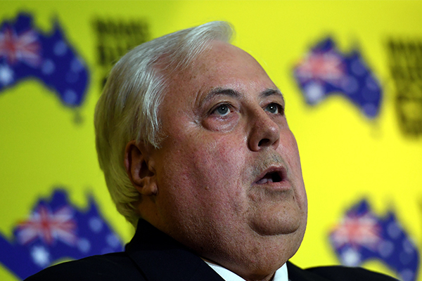 'No personal liability': Clive Palmer says he shouldn't be responsible for QLD Nickel workers