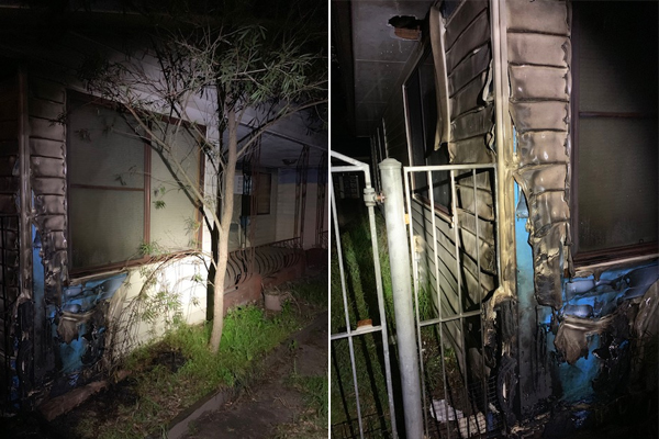 Article image for WATCH   Toongabbie home set alight while residents sleep