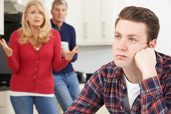 Millennials living at home longer