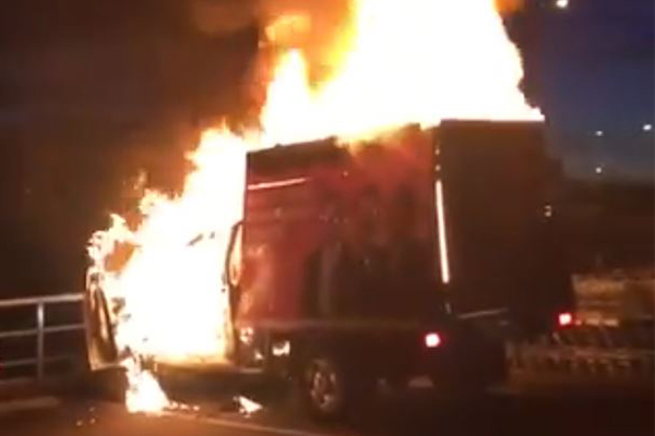 One Nation truck torched in post-election attack