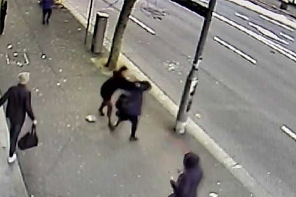 WATCH | Pregnant woman attacked in 'despicable act'