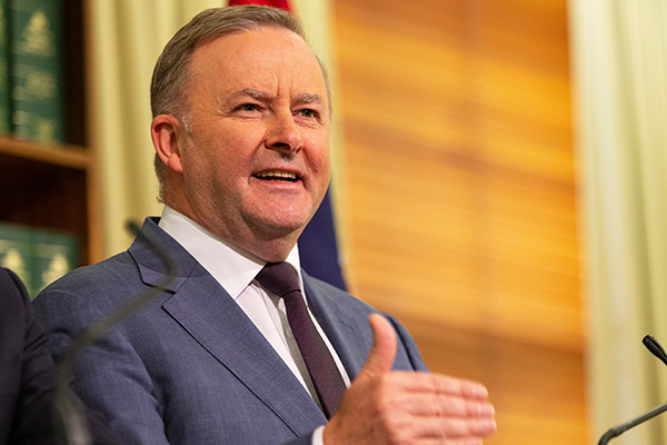 Anthony Albanese insists Labor's tax cut plan will benefit economy