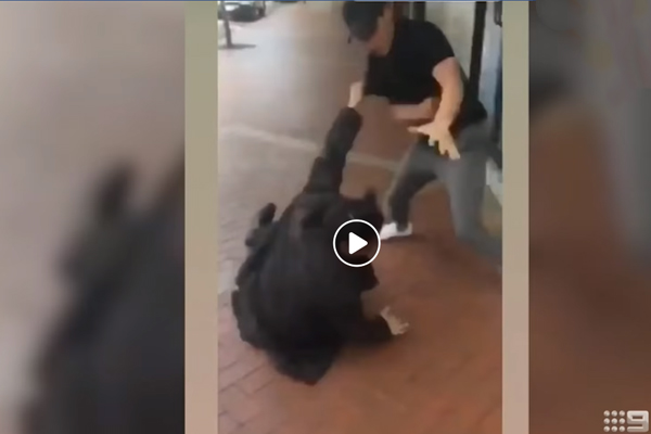 Man who bit cop laughs his way out of court without jail time