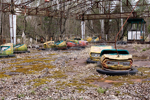 Chernobyl: The city 'frozen in time'