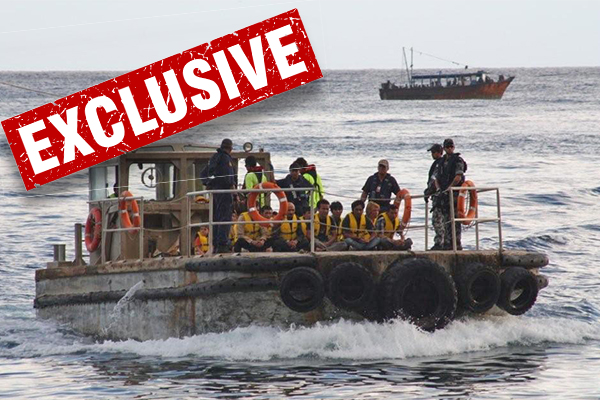 EXCLUSIVE   Up to six illegal boats headed for Australia