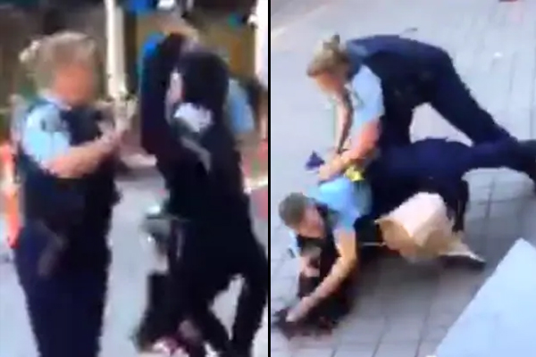 14yo girl punches police officer in the face, Hornsby