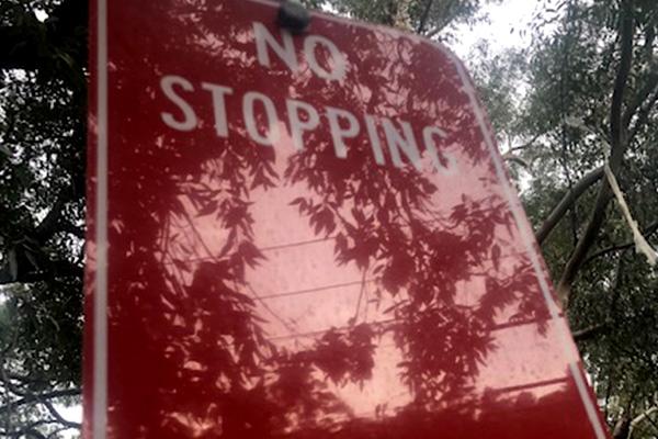 State refuses to wave parking fine despite vandalised sign