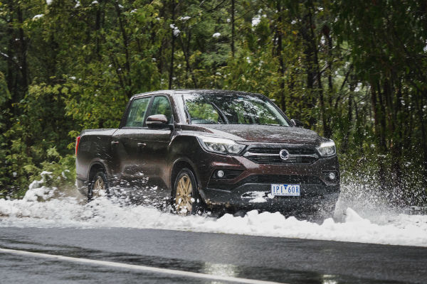 SsangYong fires a rocket into the ute market with their value packed long-wheelbase XLV Musso