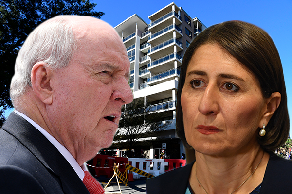 'I am absolutely disgusted with you': Alan Jones takes Premier to task