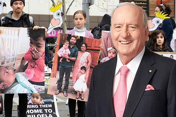 Alan Jones advocates for release of detained Sri Lankan asylum seekers
