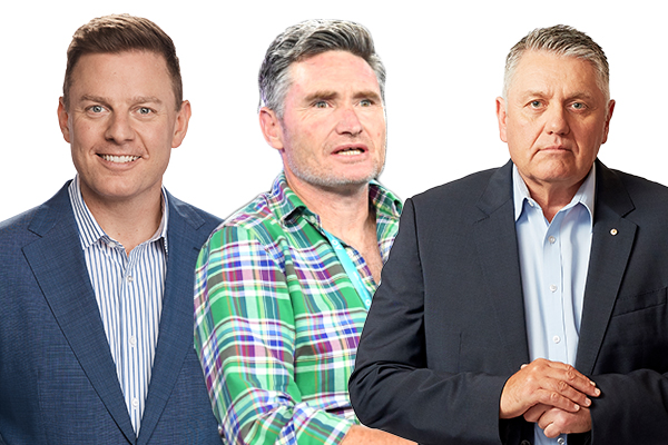 Ben Fordham, Hughesy and Ray Hadley battle it out to be named 'Hottest Radio Hunk'