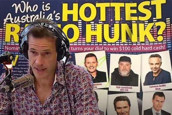 Article image for Reigning champion Jonesy weighs in on 'Hottest Radio Hunk' competition