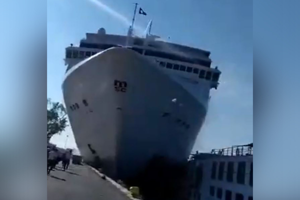 'It still makes me quiver': Australian man's experience aboard Venice cruise ship