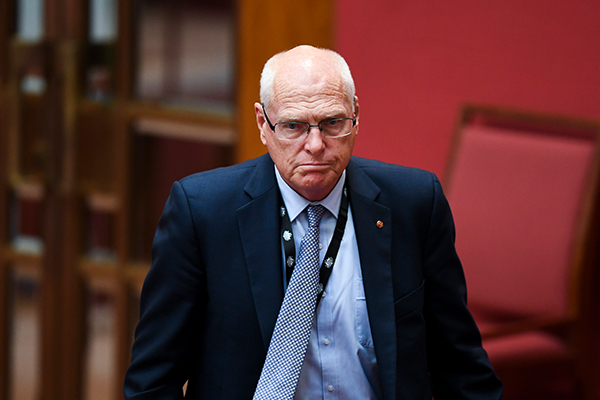 Article image for Jim Molan concedes defeat in the Senate